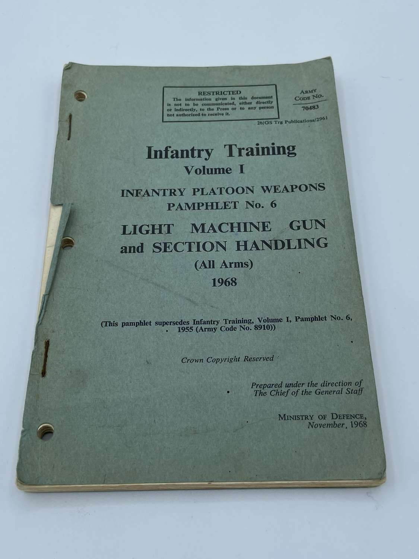 Post WW2 1968 Infantry Training Volume 1 Booklet Infantry Platoon