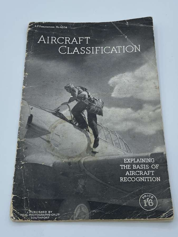 WW2 Aircraft Classification Warplanes In Series Continued RAF Booklet