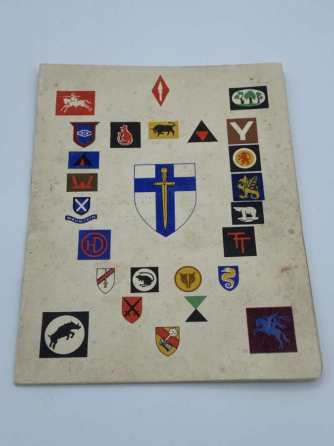 WW2 The Second Army Thanksgiving Service Book