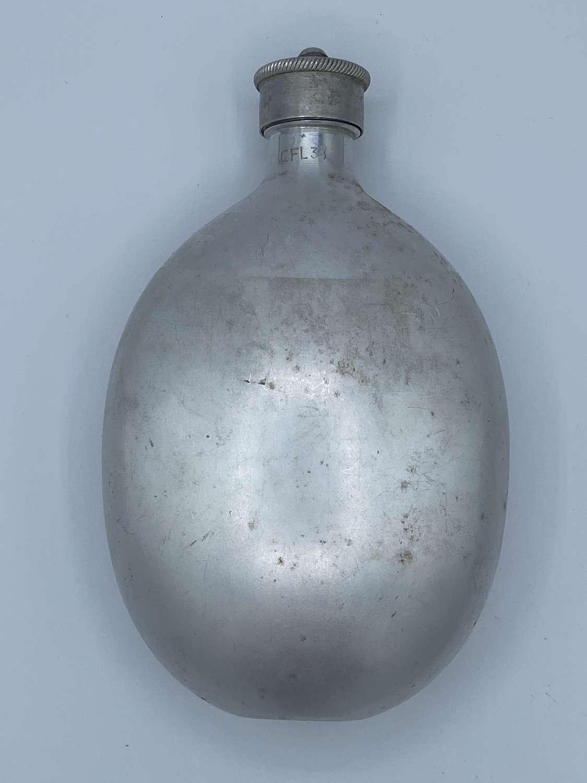 WW2 Wehrmacht 1938 Water Bottle Carl Feldhaus Matching Bottle Cfl38