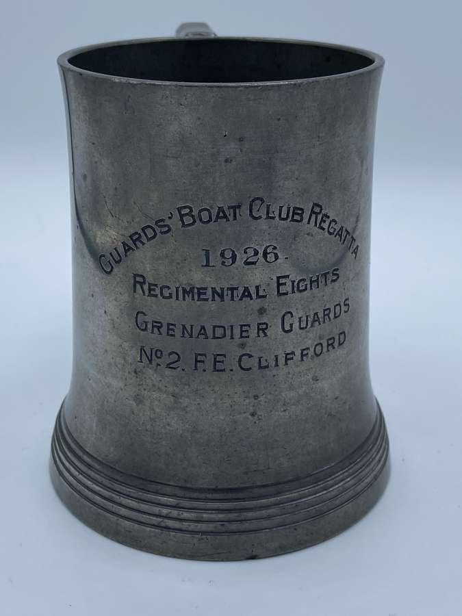 WW1 Inter War 1926 Guards Boat Club Regatta Regimental Eights No2 L