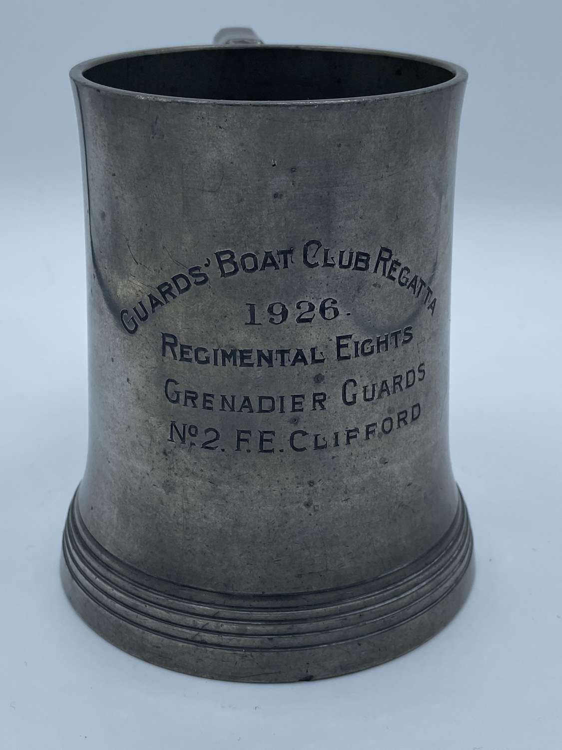 WW1 Inter War 1926 Guards Boat Club Regatta Regimental Eights No2 L