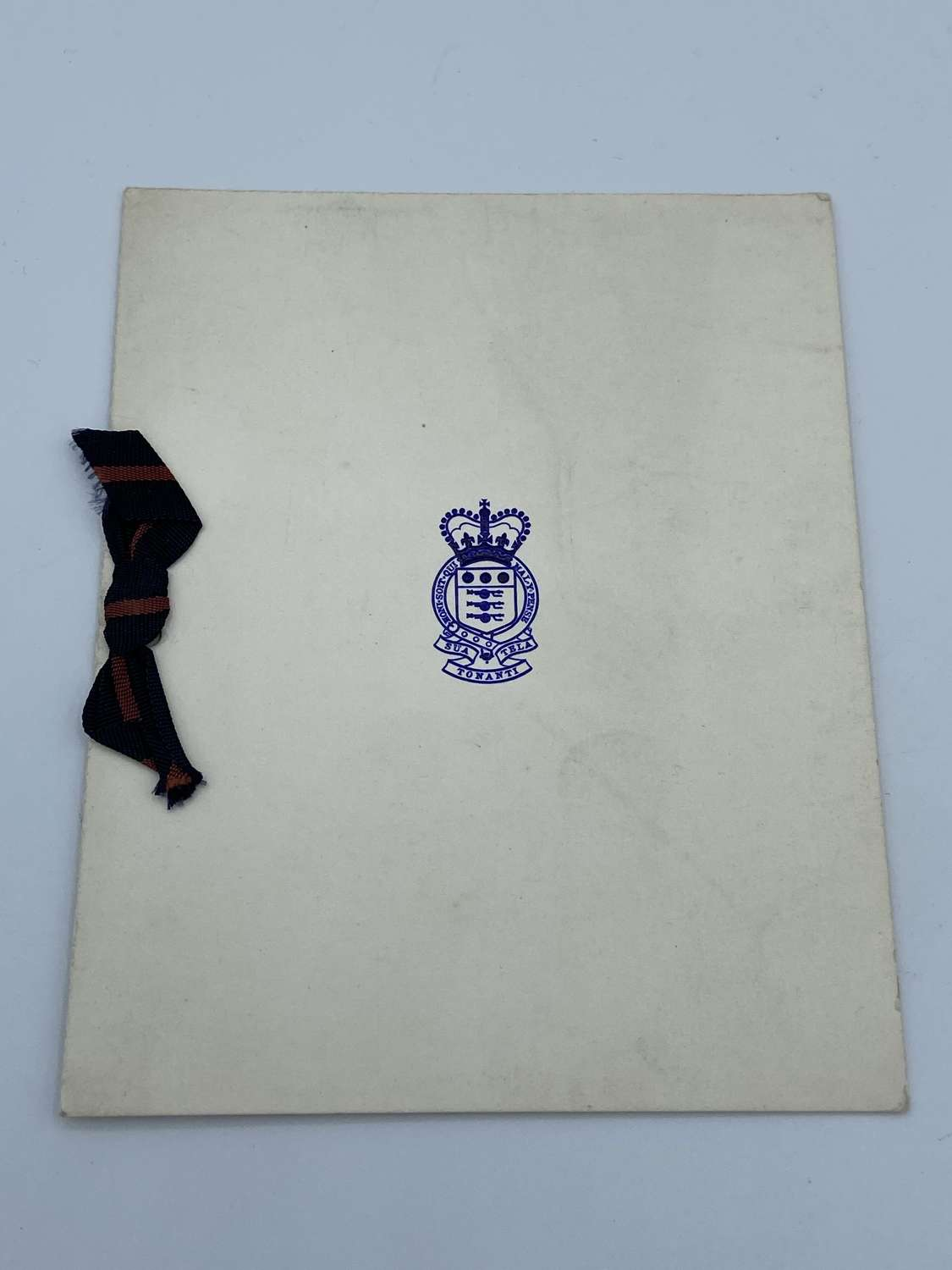 WW2 Royal Army Ordnance Corps RAOC Regimental Christmas Card