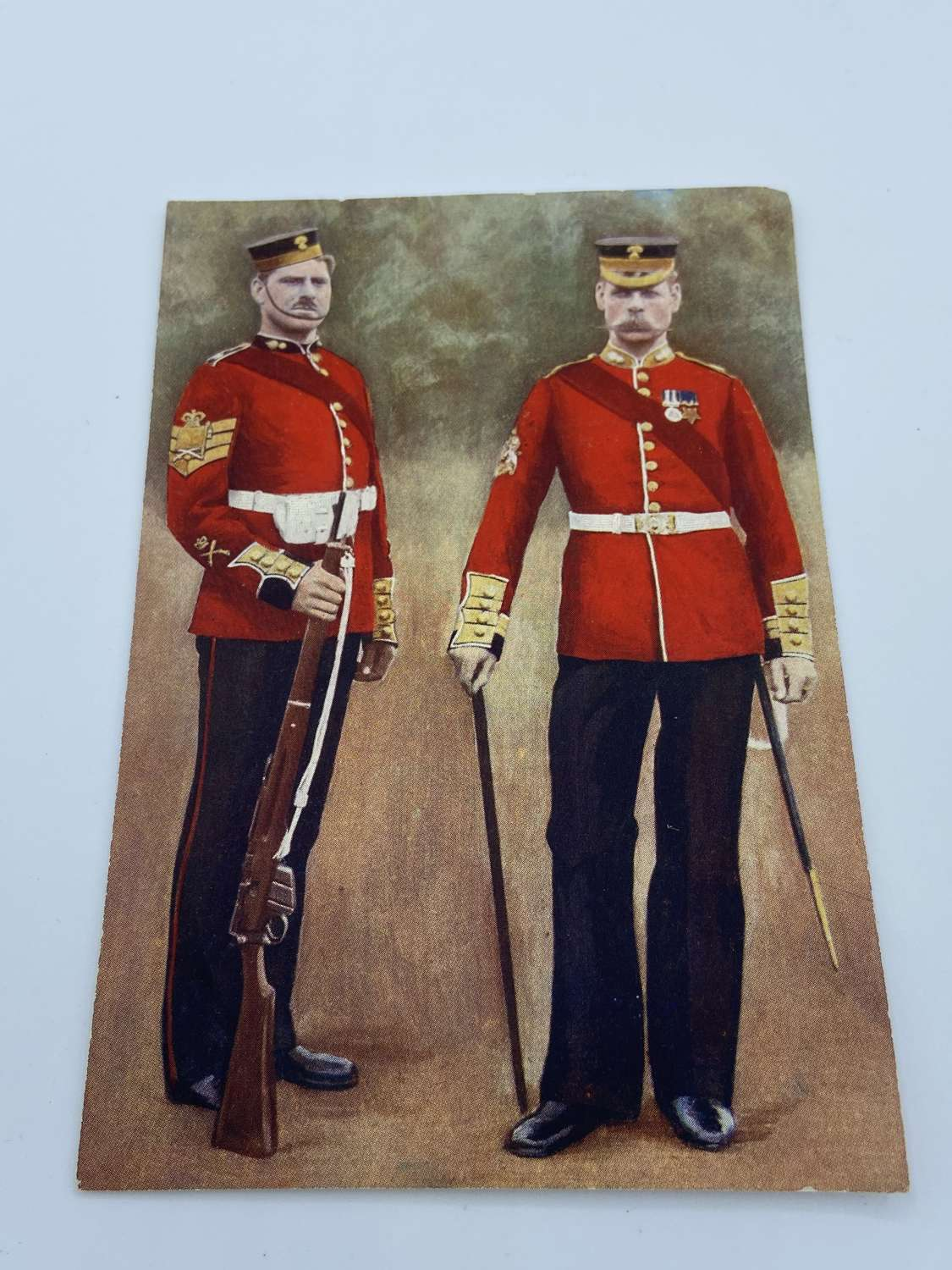 Victorian 1880s Grenadier Guards Sergeant Major Illustration Print