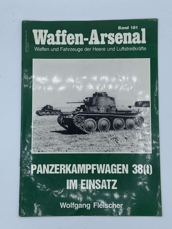 Vintage Das Waffen Arsenal Band 181 Panzerkampfwagen Magazine