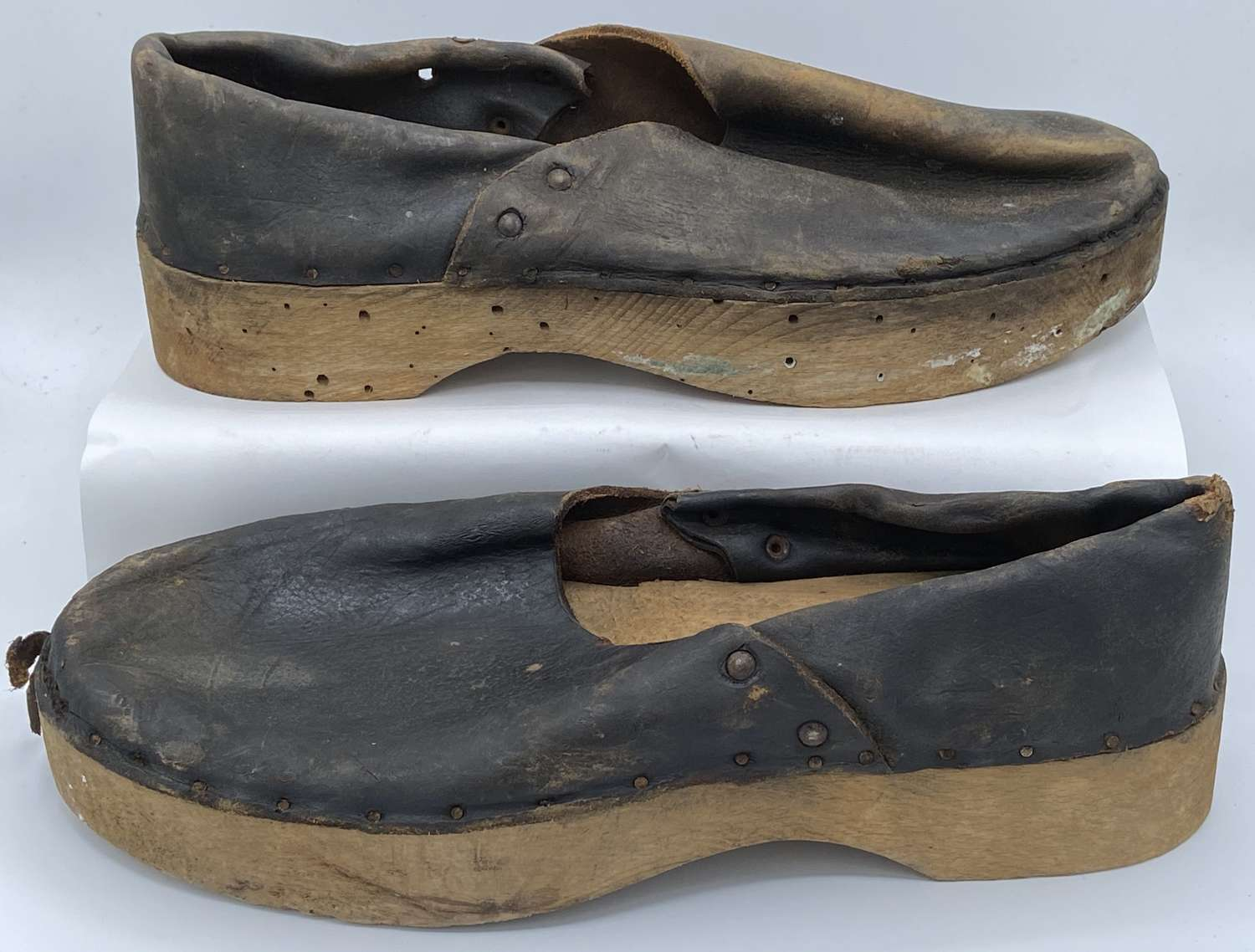 WW2 German Handmade unissued Concentration Camp KZ Reichenau Shoes