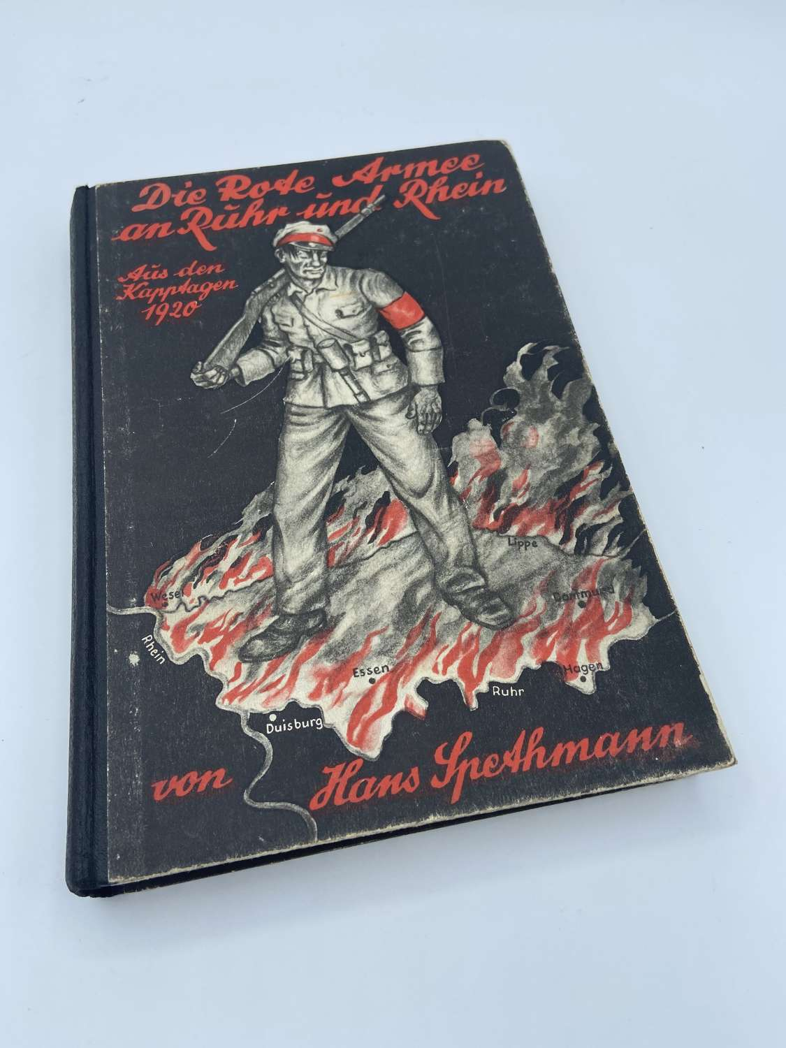 WW2 German Book The Red Army in the Ruhr and Rhine 1930