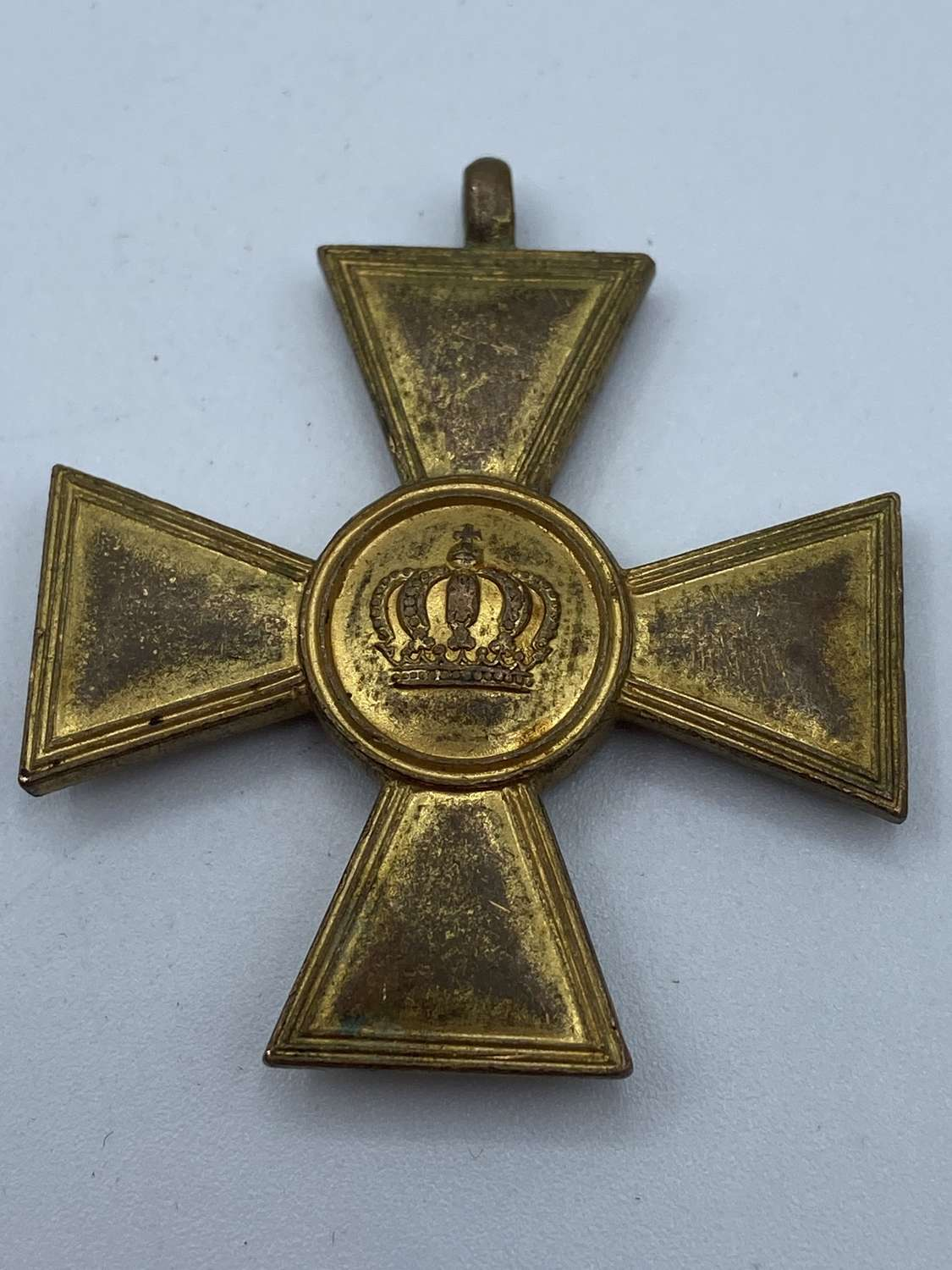WW1 German 15 Years Long Service XV Medal Missing Ribbon