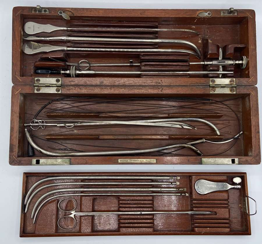 US Civil War Surgical Heart Field Surgeons Kit George Tiemann & Co NY