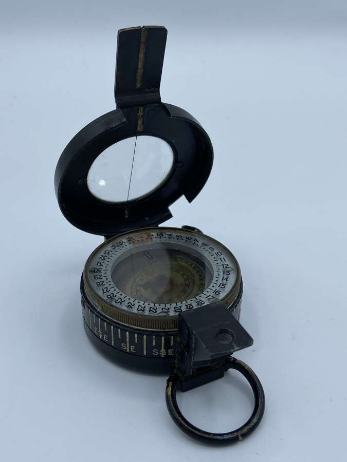 WW2 British Army 1940 MKIII Marching Compass T.G Co Ltd