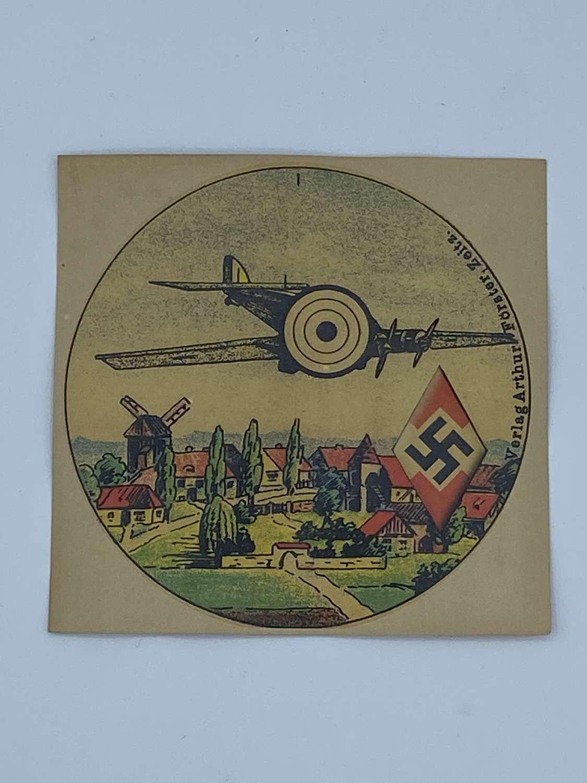 WW2 German Hitler Youth Pistol Plane Target Arthur Forster Zeitz