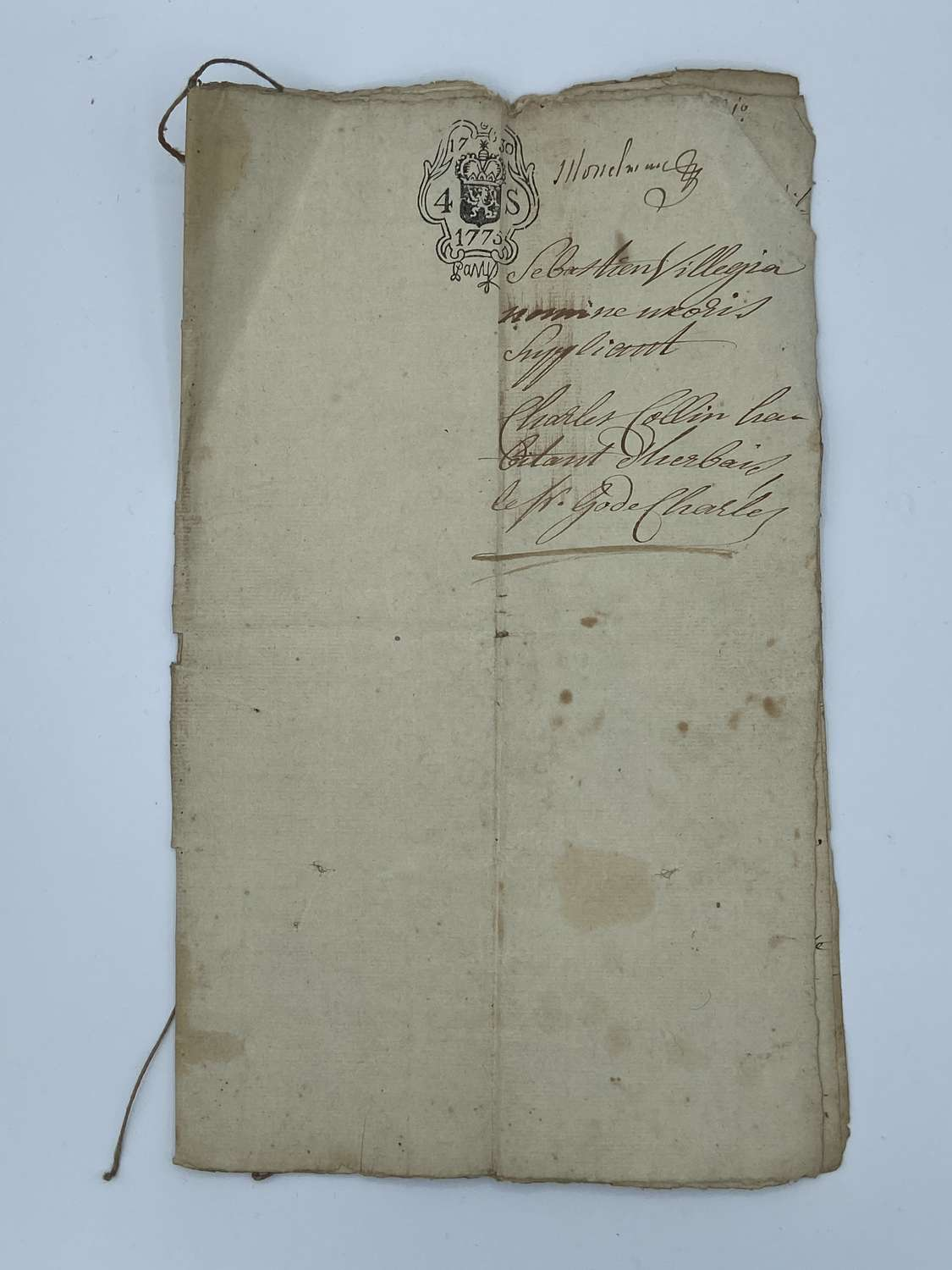 Georgian Royal Dutch Deed Patient: Sebastien Vil & Charles Collins