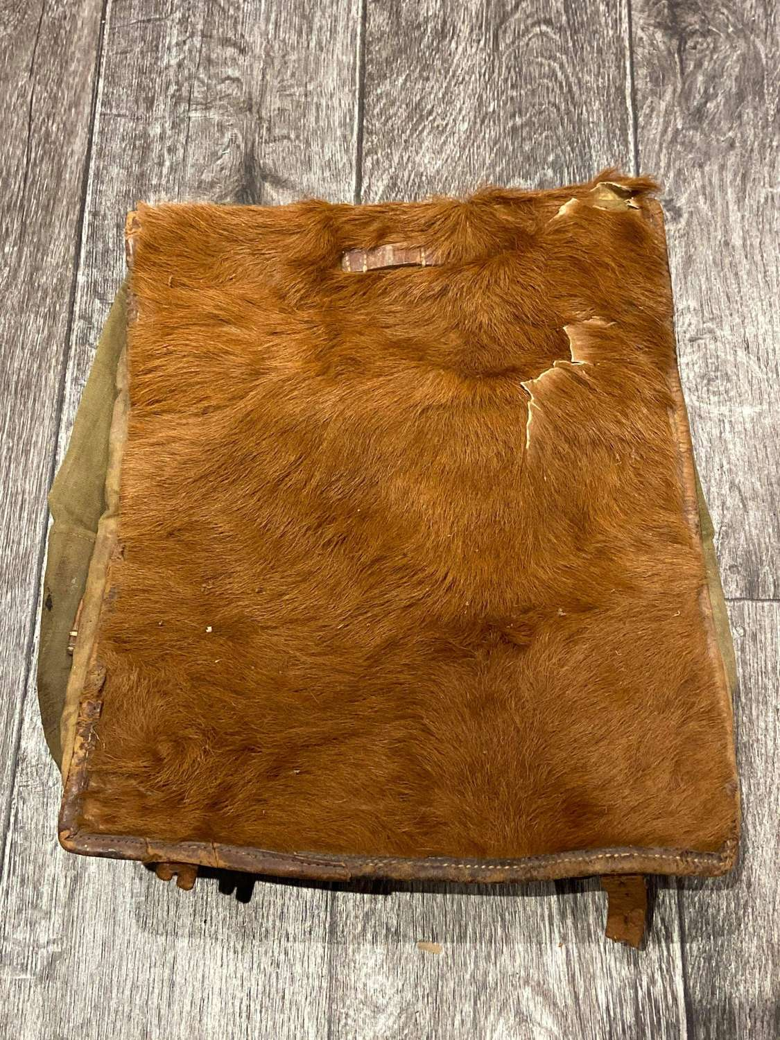 WW2 German 1938 Dated Pony Fur Rucksack Tornister