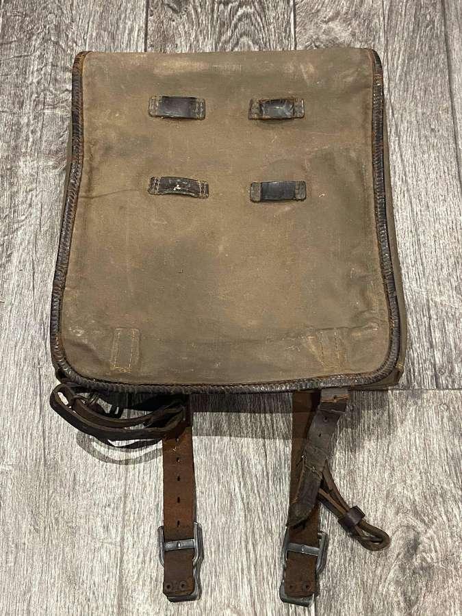 Original WW2 German SS Tornister Backpack With Shoulder Straps