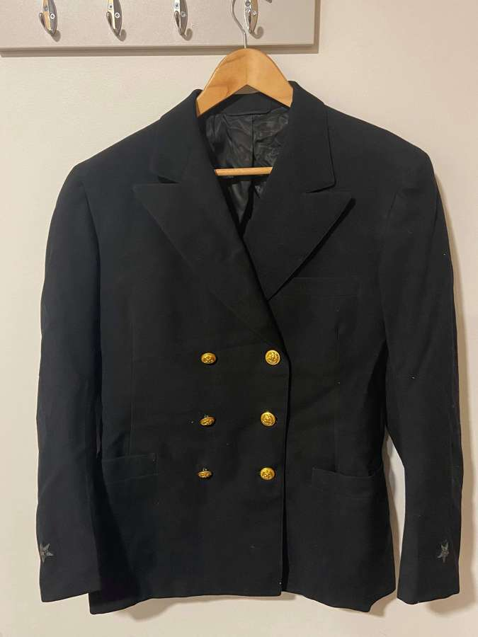 WW2 US Navy Regulation Officers Tunic/Blazer Bullion Stars On Sleave