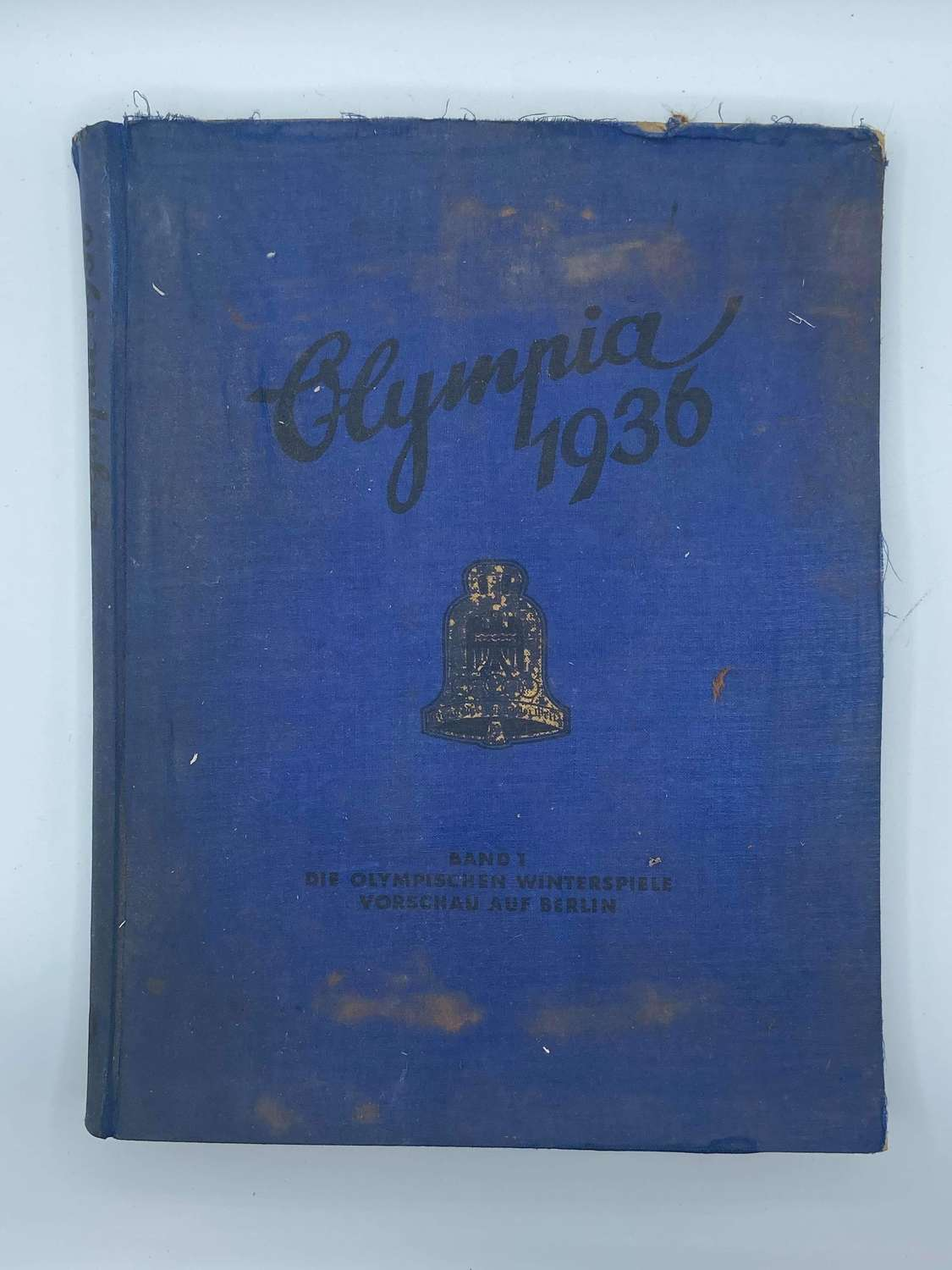 WW2 German 1936 Olympia Olympic Cigarette Card Album Band One
