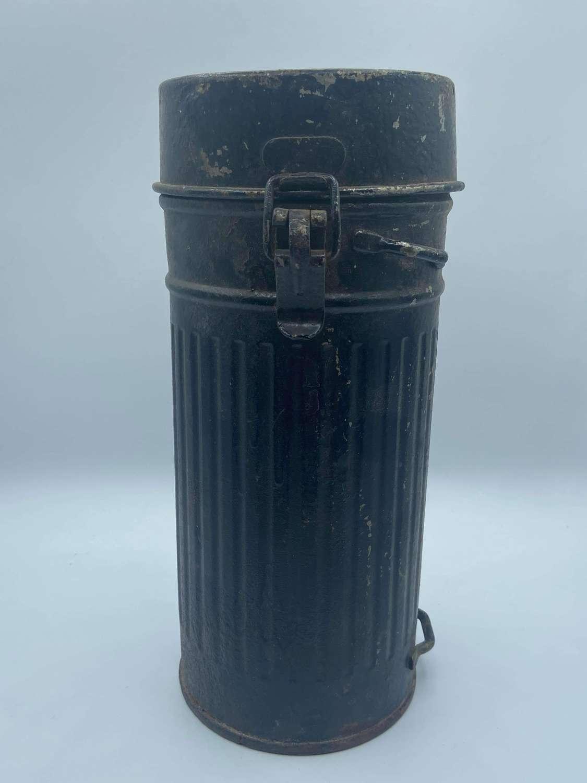 WW2 German M38 Gas Mask Respirator Medi Canister