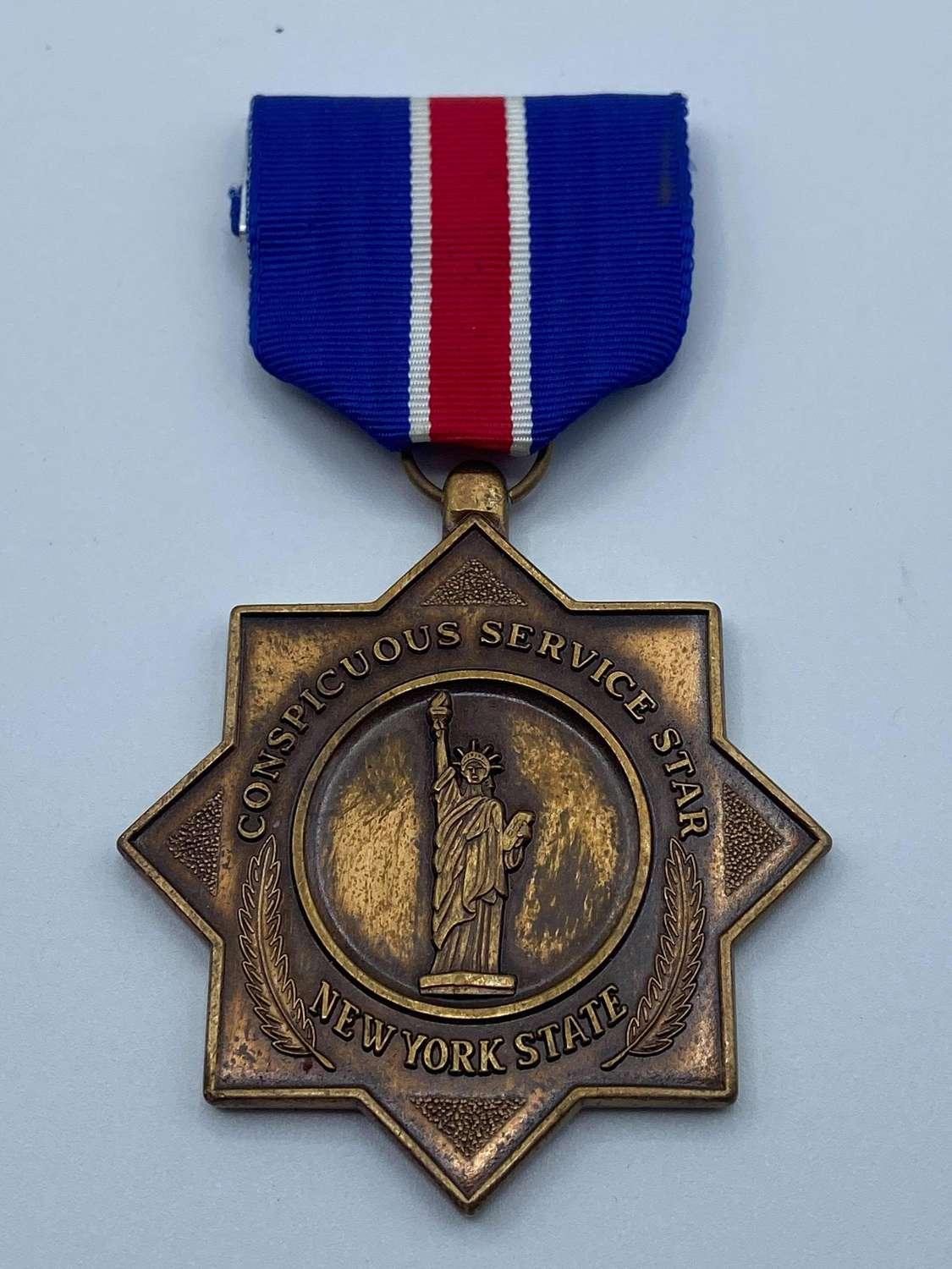 Post WW2 Conspicuous Service New York State National Guard Medal