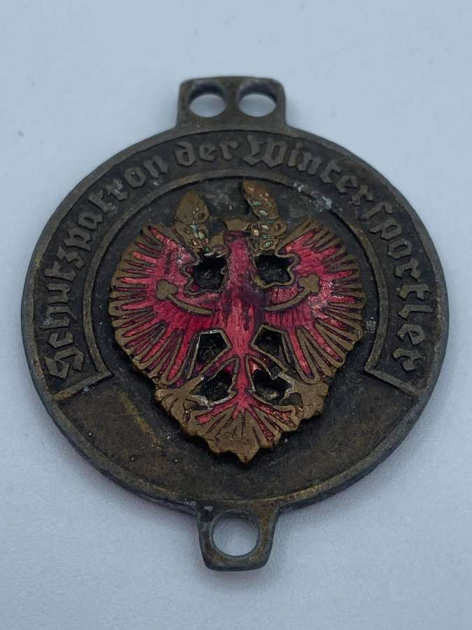 WW2 German Austrian Patron Saint Of Winter Sports ULLR Medal