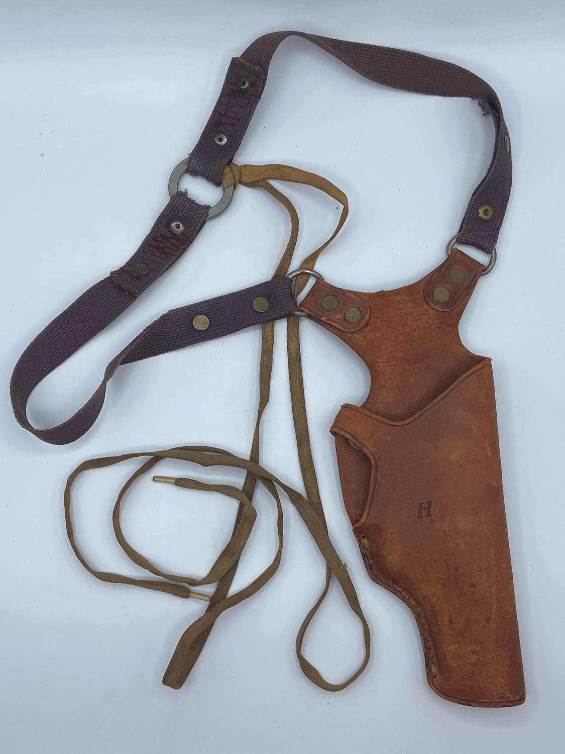 "Rare 1950s NYPD New York Leather ""Texas"" Shoulder Holster"