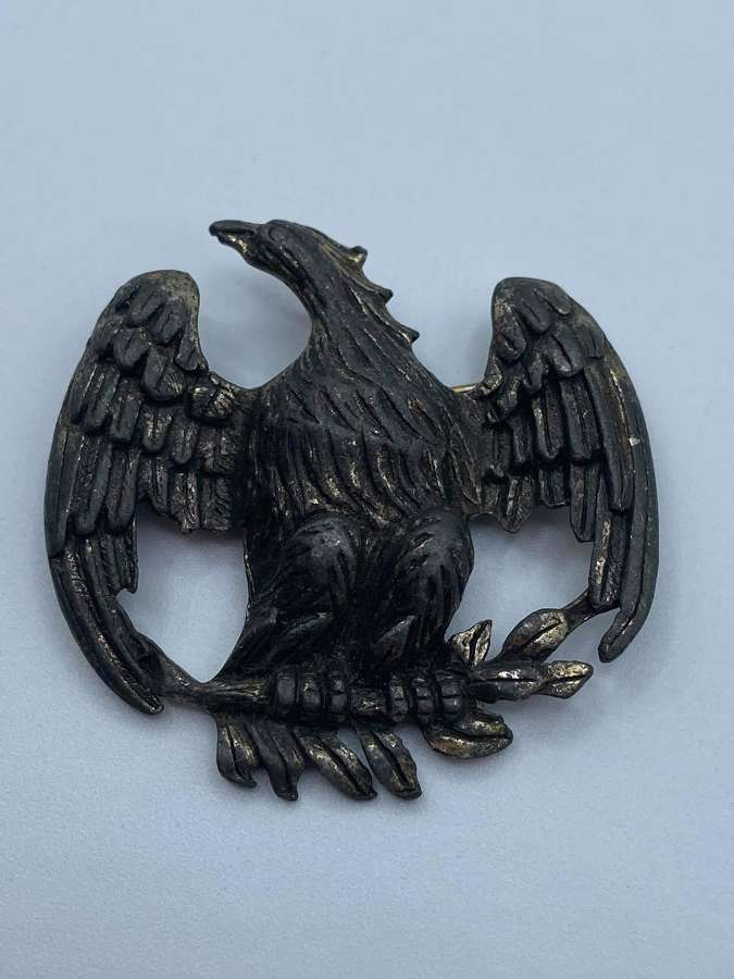 Antique George Washington Presidential Perched Eagle Badge
