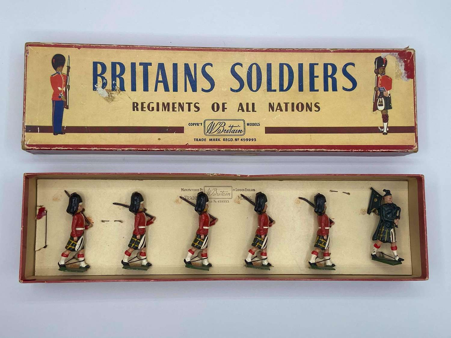 1960s Britians Soldiers Regiments Of All Nations Gordon Highlanders 77