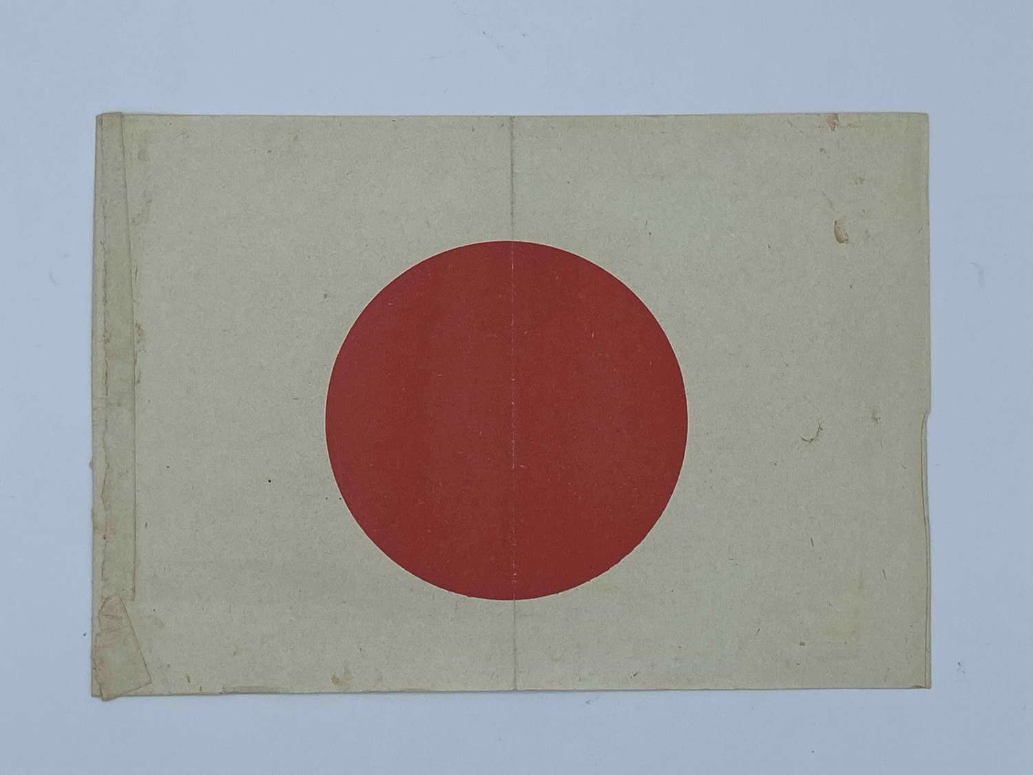 WW2 Japanese Paper Meatball Patriotic  Civilian Parade Flag