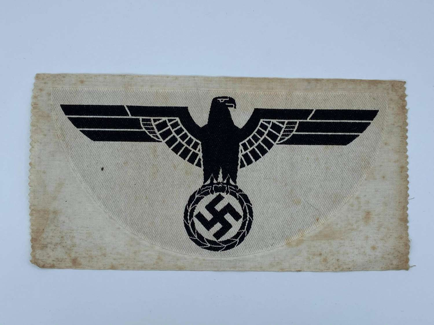 Large WW2 German Wehrmacht Heer (Army) 1st Pattern Sport Shirt Patch