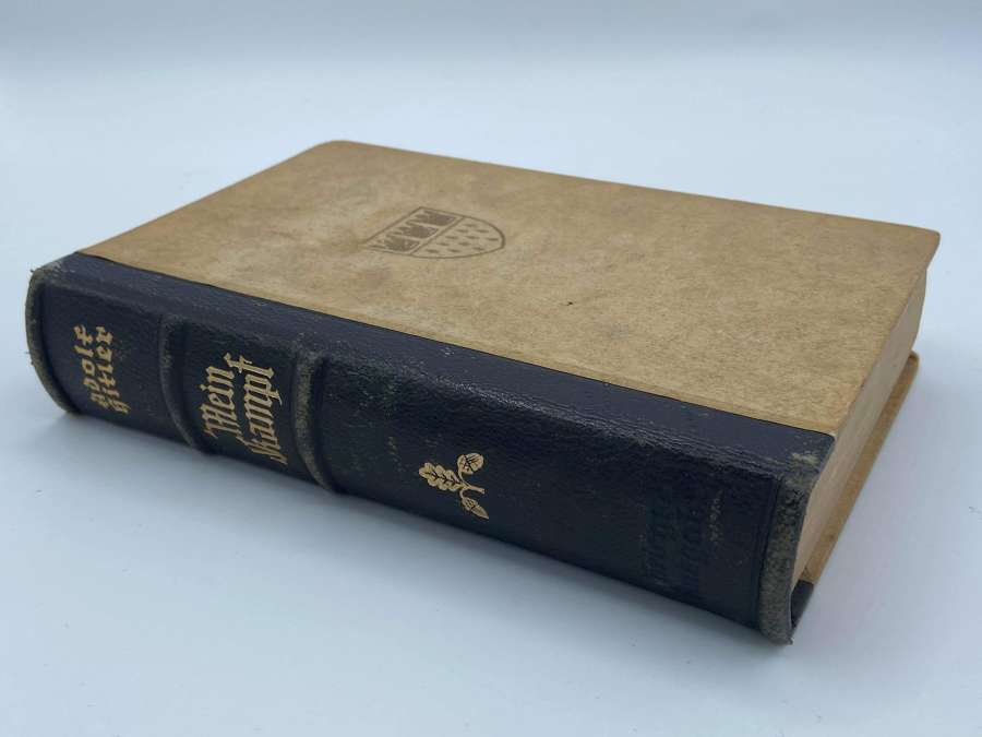 WW2 German Adolf Hitler Mein Kampf 1942 Wedding War Edition Koln