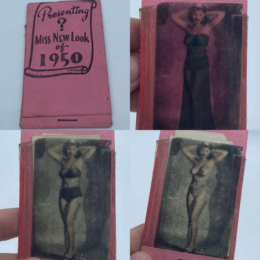 Vintage Erotica Nude Gentlemans Pocket Peepshow