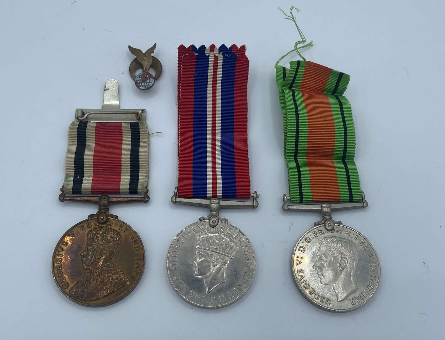 WW2 Group Special Constabulary, War & Defence Medals To William Barnes