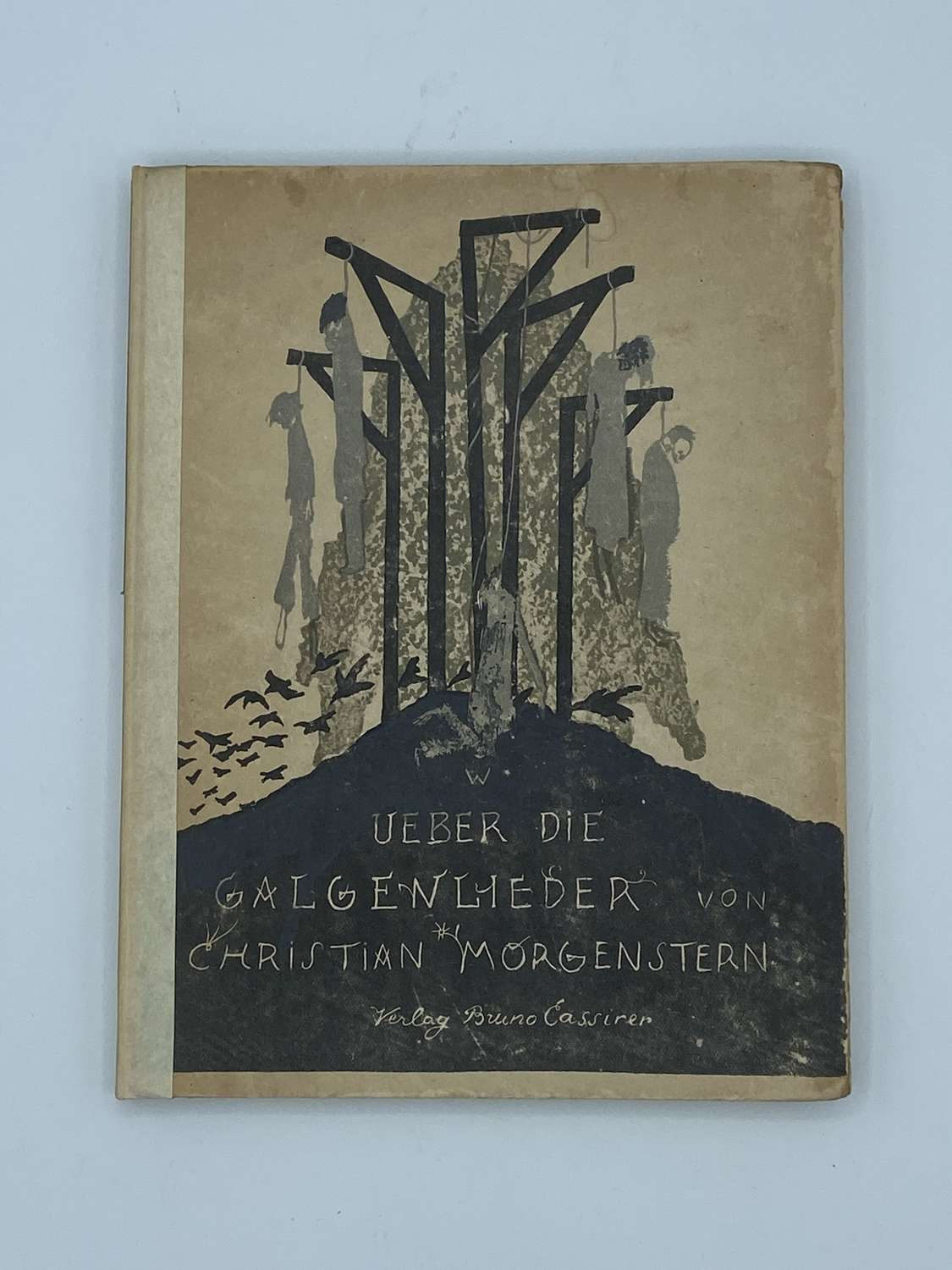 Antique Berlin 1921 1st Edition Christian Morgenstern Gallow Stories