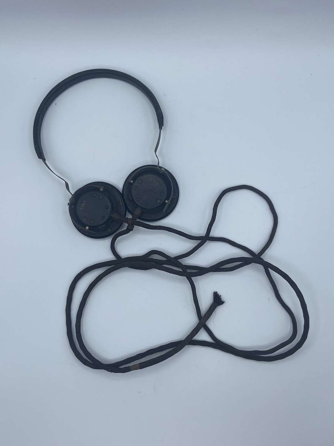 WW2 1941 Dated German Panzer Kopfhörer Tank Crew Headphones DFH A 41