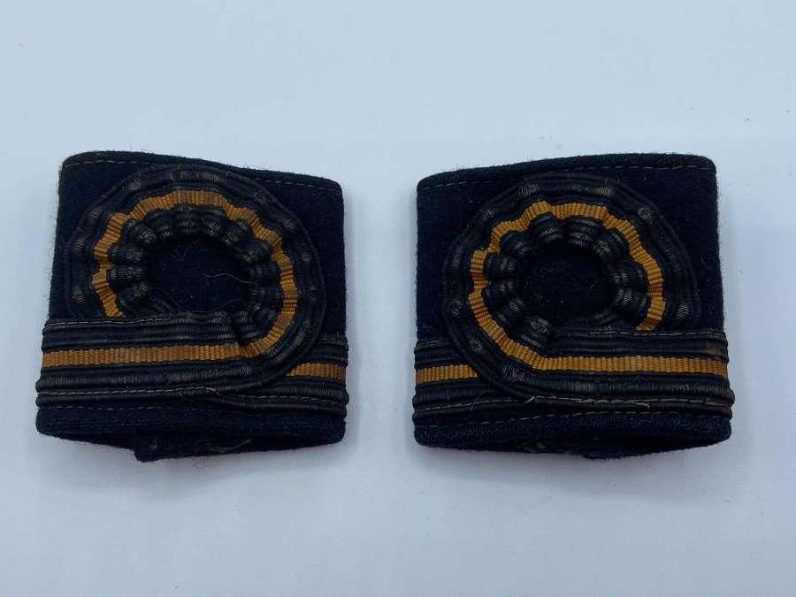 Pair Of WW2 To 1950s Royal Australian Navy Sub Lieutenant Epaulettes