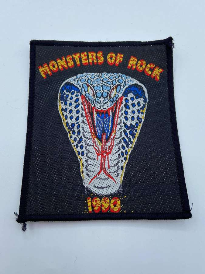 Vintage 1990s Original Rock Metal 1990 Monsters Of Rock Whitesnake