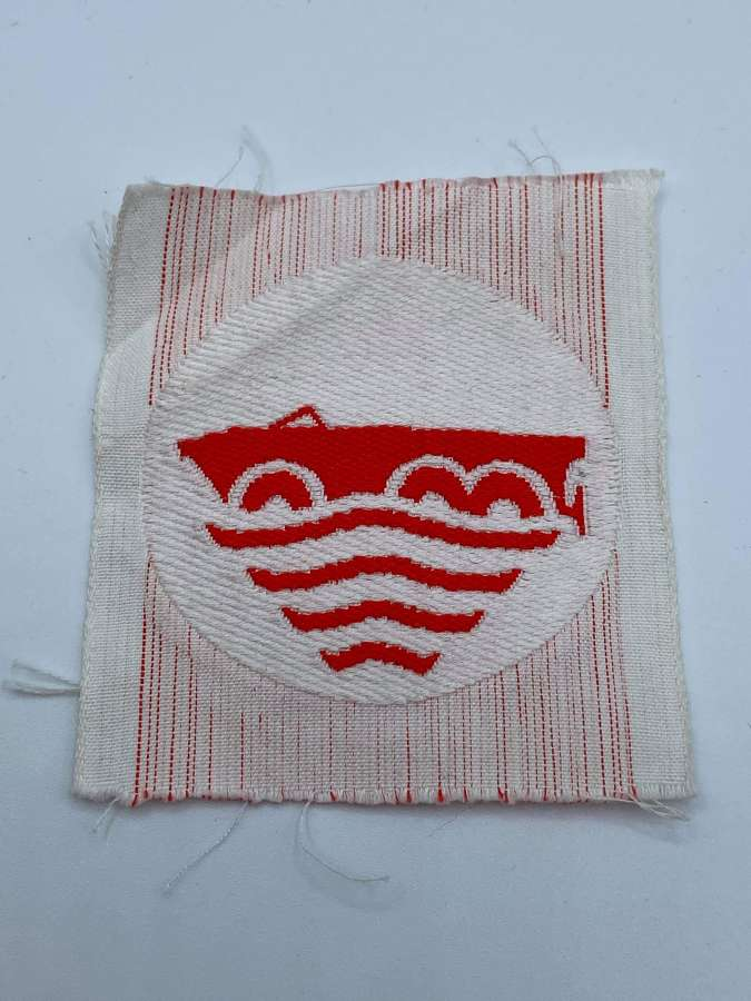 1940s To 1960s German 10th Panzer Division Amphibious Vehicle Patch