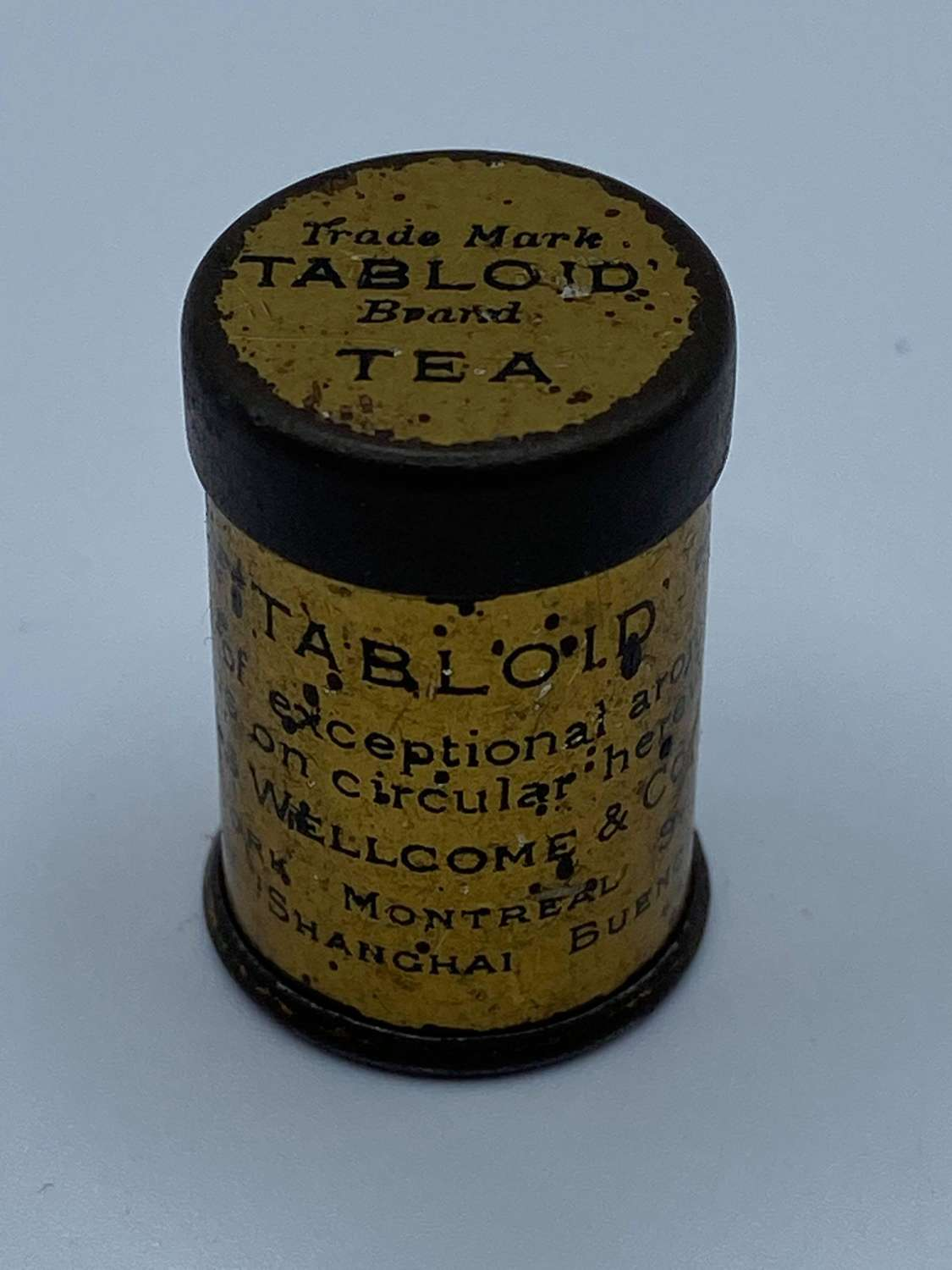 WW2 British DollsHouse Tea Ration Produced: Educate Children To Ration