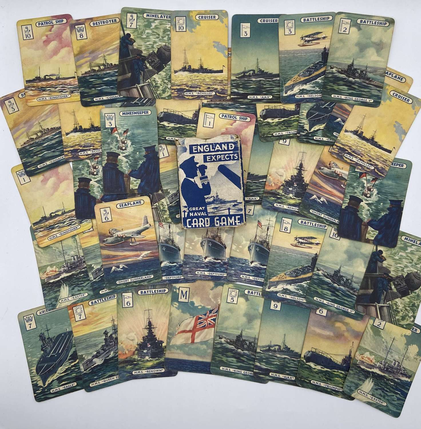 Ww2 1940 England Expects The Great Naval Card Game