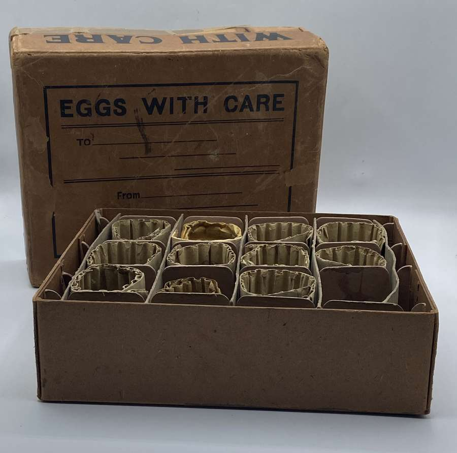 WW2 Home Front Eggs Postal Box