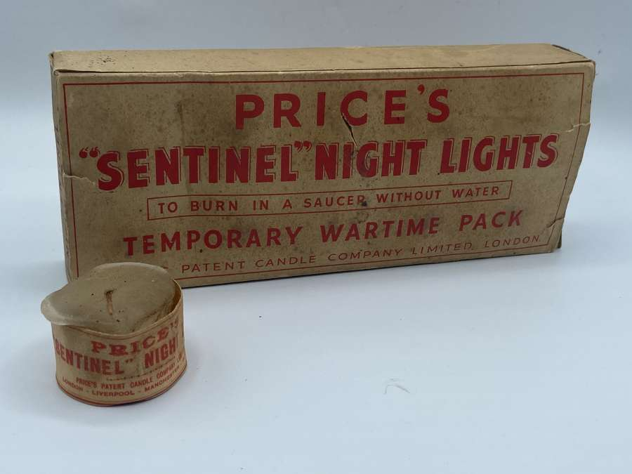 WW2 Temporary Wartime Pack Prices Sentinel Nighy Lights Complete