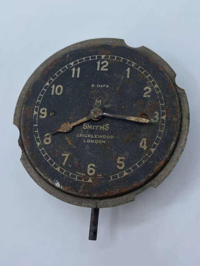 Antique 1920s British Classic Car Smiths Cricklewood Lobdon Dash Clock