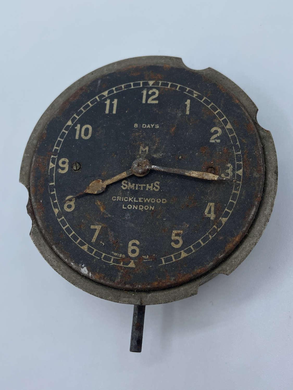 Antique 1920s British Classic Car Smiths Cricklewood Lobdon Dash Clock