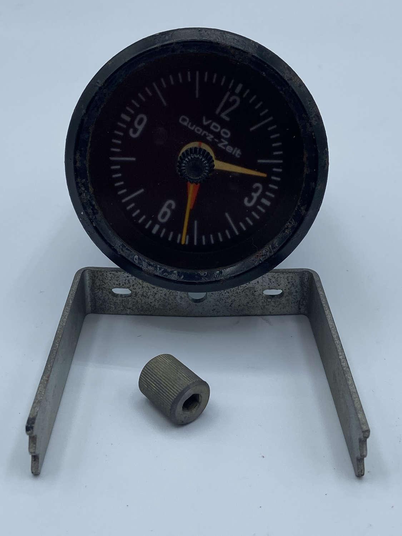 Vintage 1960s VW Volkswagen VDO Quartz-Zeit Clock VW322919203 214/6/3