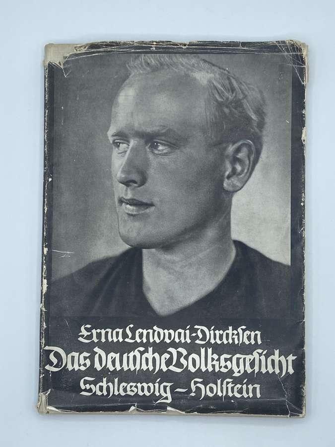 WW2 Perfect German Aryan Das Deutsche Volksgesicht Book & Dust Cover