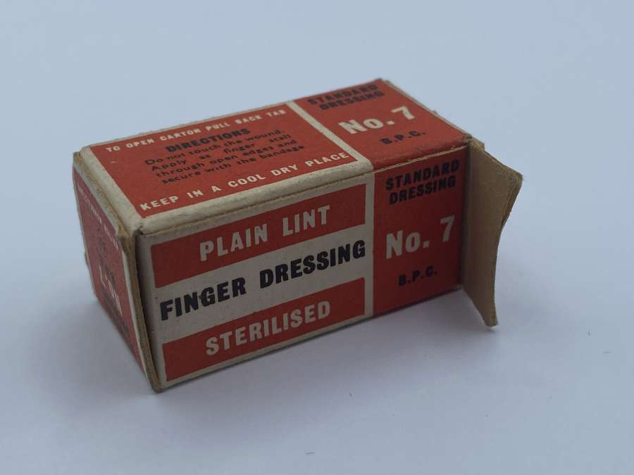 WW2 HomeFront Home Guard Finger Bandage