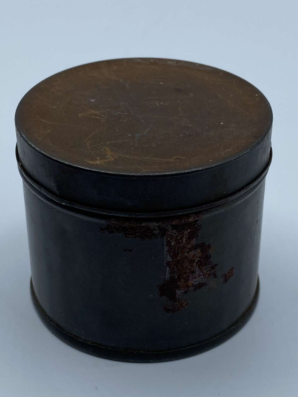 WW2 British Home Front Clotted Cream 1/4 LB Net Circular Ration Tin