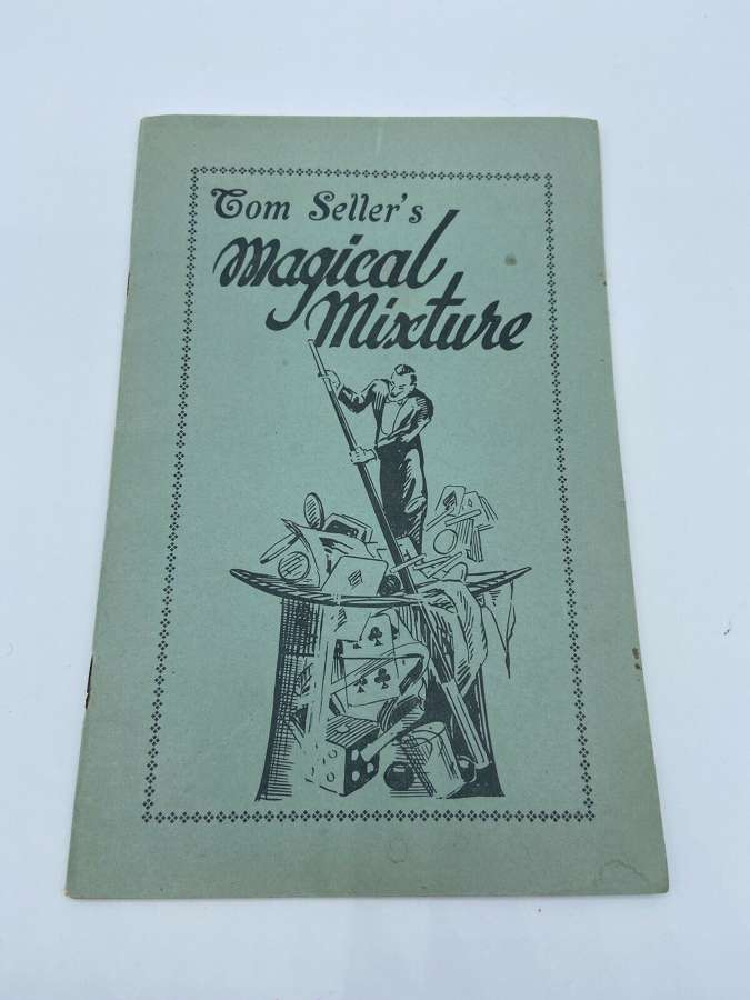 Vintage 1947 Dated Tom Sellers Magical Mixture Demon Series Book