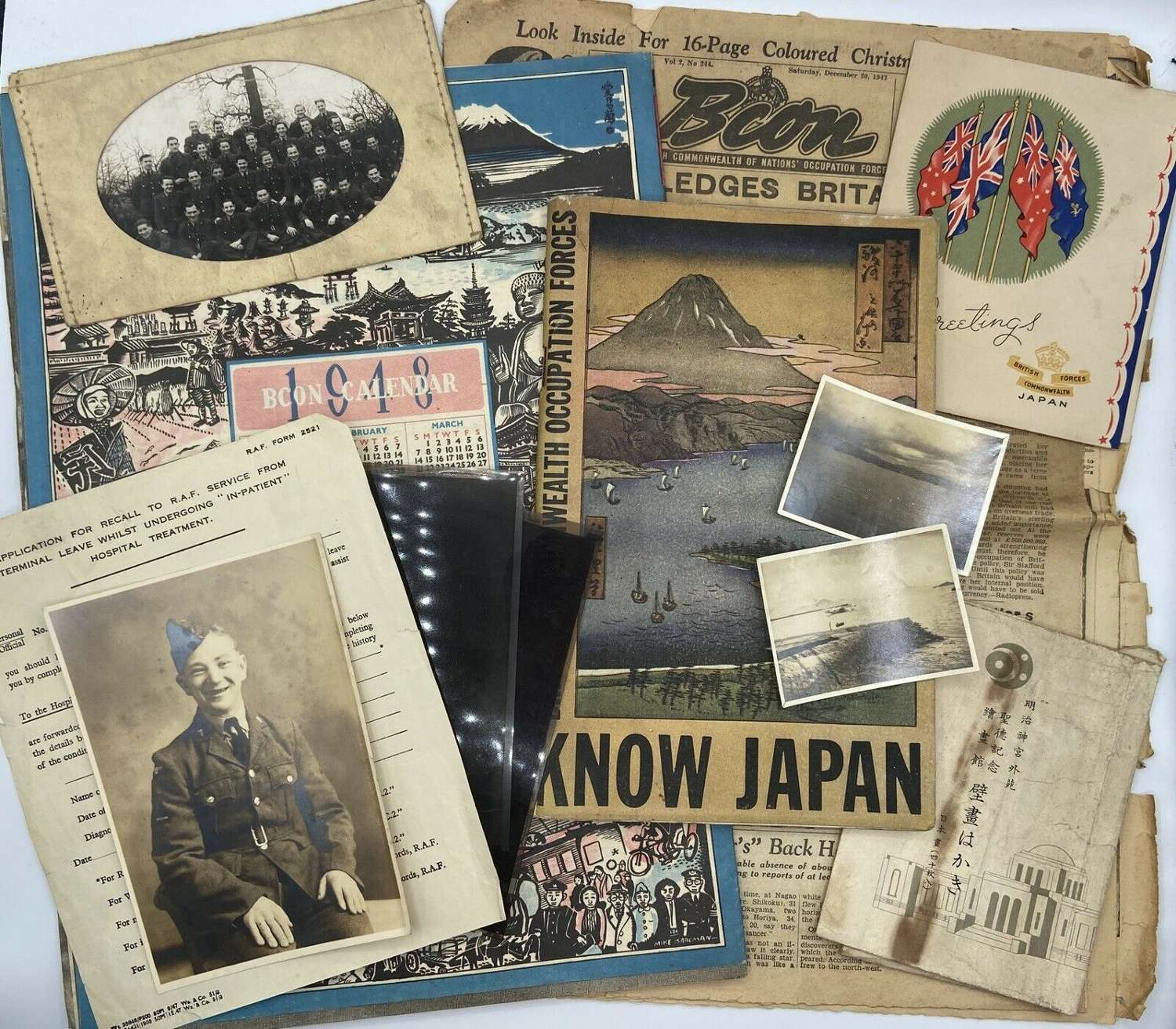 Post WW2 British Commonwealth Occupation Japan Forces RAAF Medical