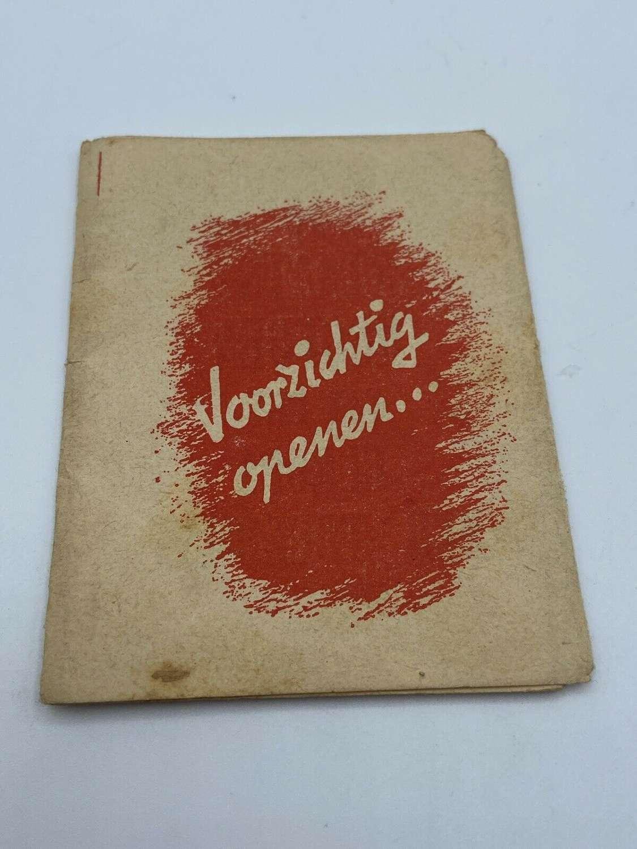 WW2 1943 German AntiCommunist Propaganda Leaflet 16 Versions Stalin