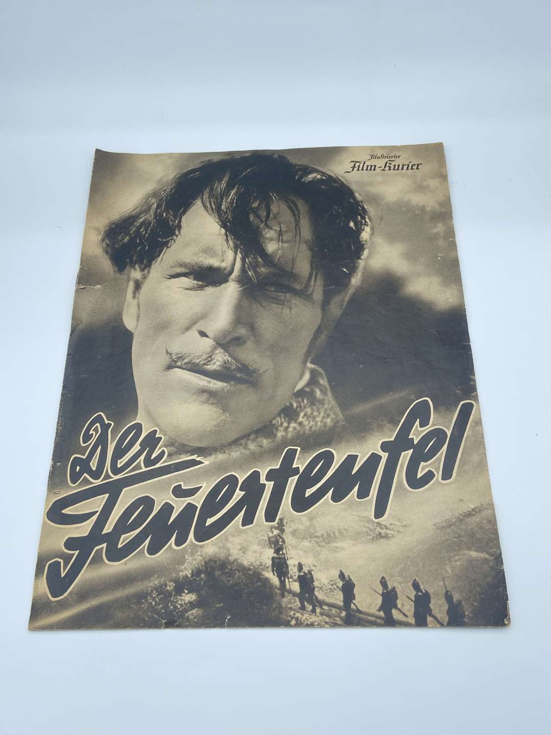 Rare WW2 German 1940 Film Booklet On DER FEUERTEUFEL (Napoleonic Theme